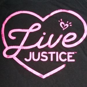 Girl's Justice long sleeve t-shirt